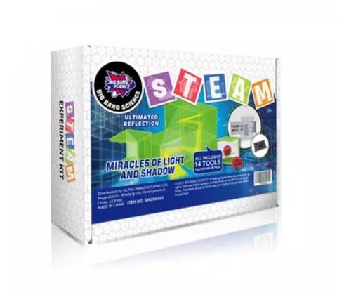 Big Bang Science STEAM Experiment Kit - Miracles Of Light and Shadow