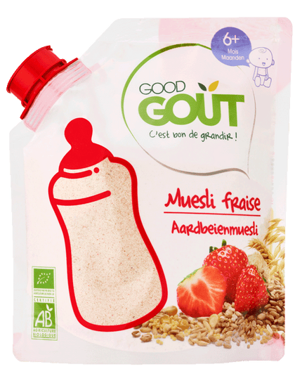 Good Goût  - Muesli Strawberry 200g