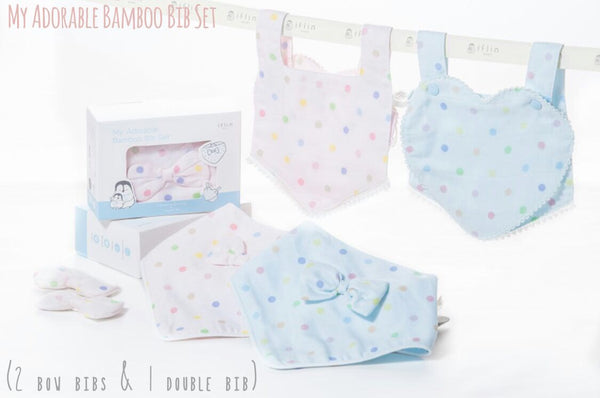 My Adorable Bamboo Bib Set