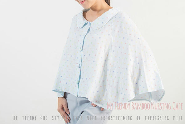 My Trendy Bamboo Nursing Cape