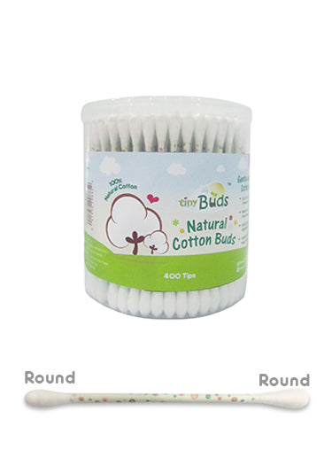 NATURAL COTTON BUDS