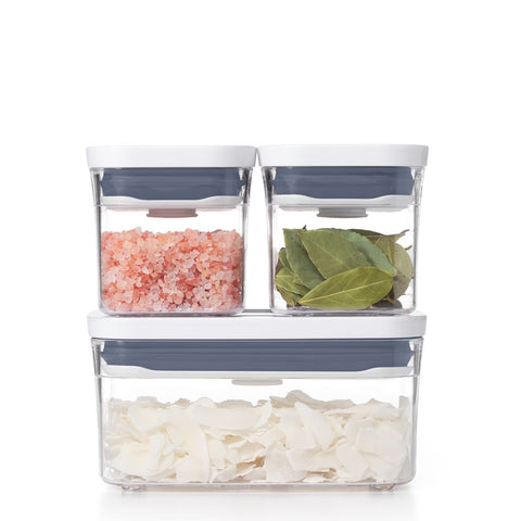 OXO CONTAINER THREE-PIECE STARTER SET