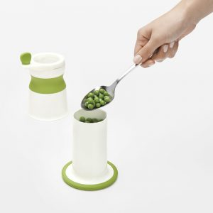 OXOTOT BABY FOOD MILL w/ SILICONE FEEDING SPOON SET