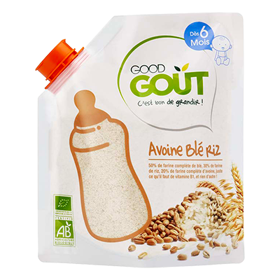 Good Goût  - Oat Wheat Rice 200g (6 mos)