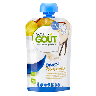 Good Goût  - Pear and Vanilla Yogurt 90g (6 mos)