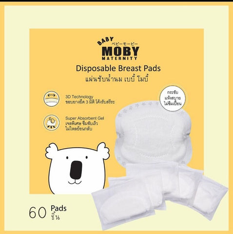 Baby Moby Maternity Disposable Breast Pads