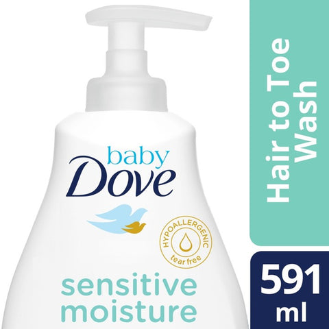 BABY DOVE HAIR-TOE SNTVE MST STR - 591ML