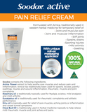 SOODOX™ ACTIVE PAIN RELIEF CREAM 50G