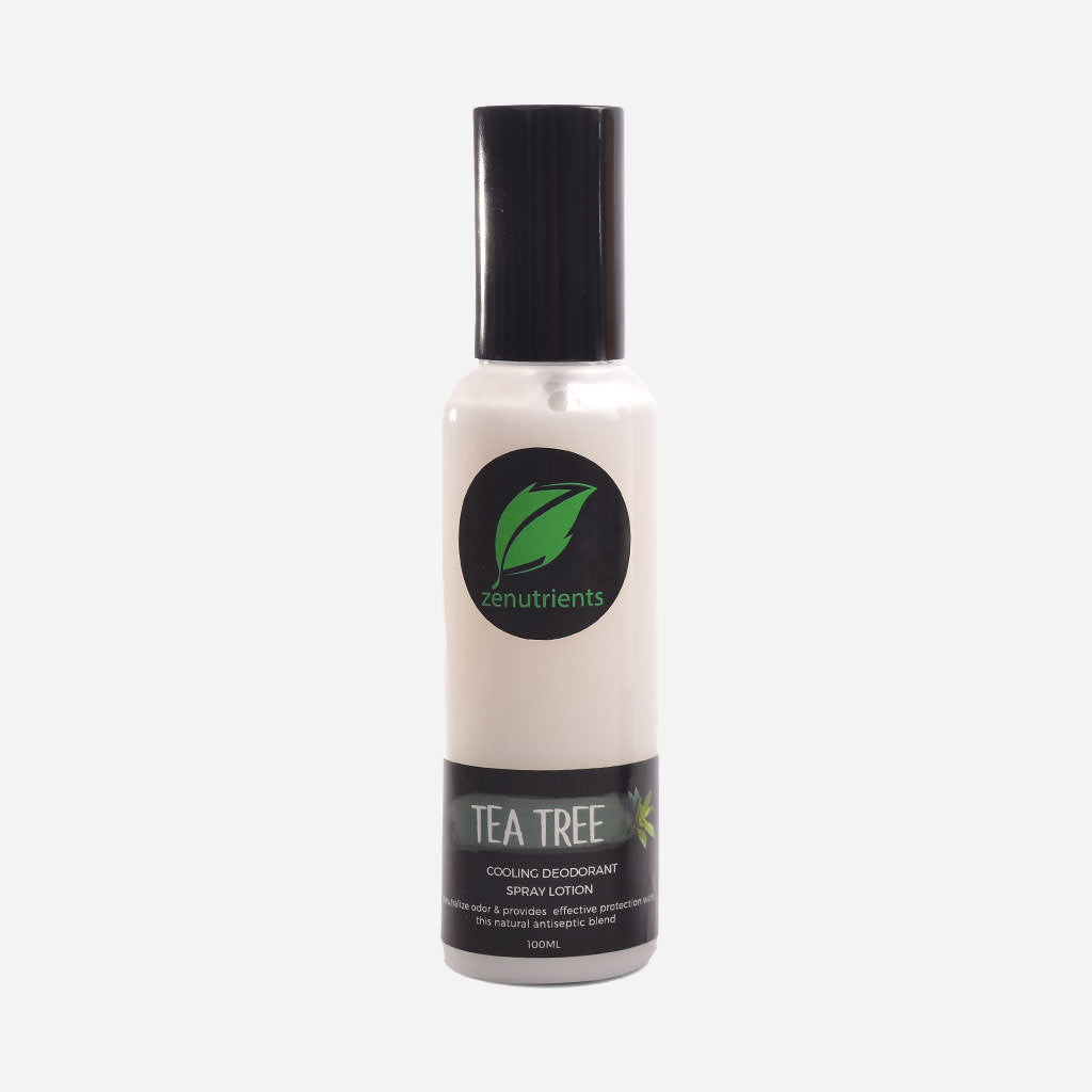 Zenutrients - Underarm Tea Tree Deo Spray Lotion