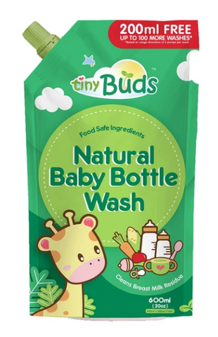 NATURAL BABY BOTTLE & UTENSIL WASH BOTTLE