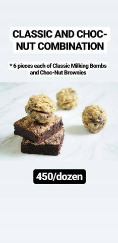 Classic & Choc-Nut Brownies
