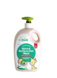 Tiny Buds Natural Dish & Bottle Wash (Fragrance Free)