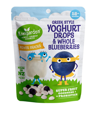 Kiwigarden Greek Style Yoghurt Drops & Whole Blueberries