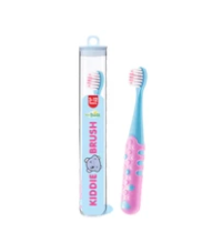 Kiddie Brush 3yrs &up (3 colors - orange, pink, purple )