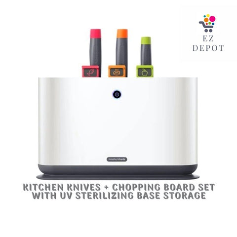 EZ Depot - UV Kitchen Knives + Chopping Board