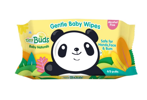 Natural Baby Wipes (65 Pulls)