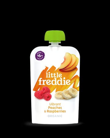 Little Freddie Vibrant Peaches & Raspberries
