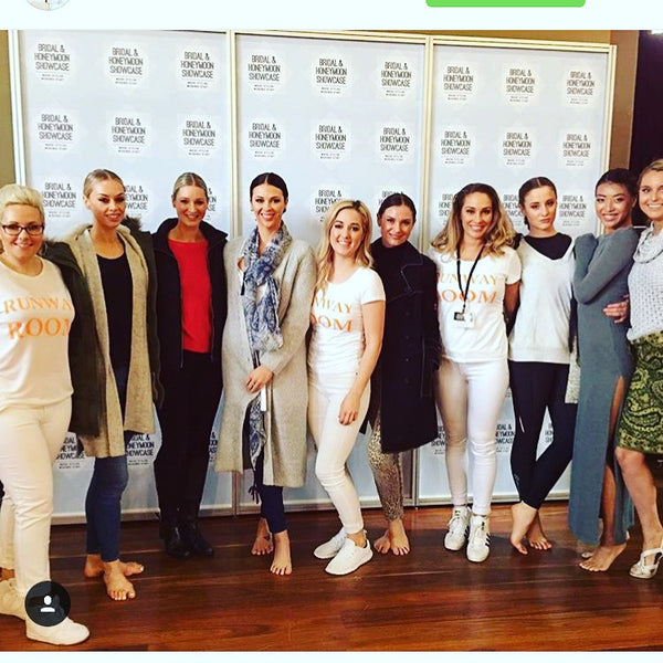 The Runway Room team impress at the Australian Bridal Expo