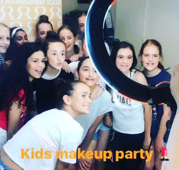 Kids Make-Up Parties