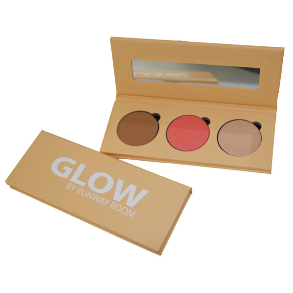 Bronzer, Blush & Highlighter Glow Palette