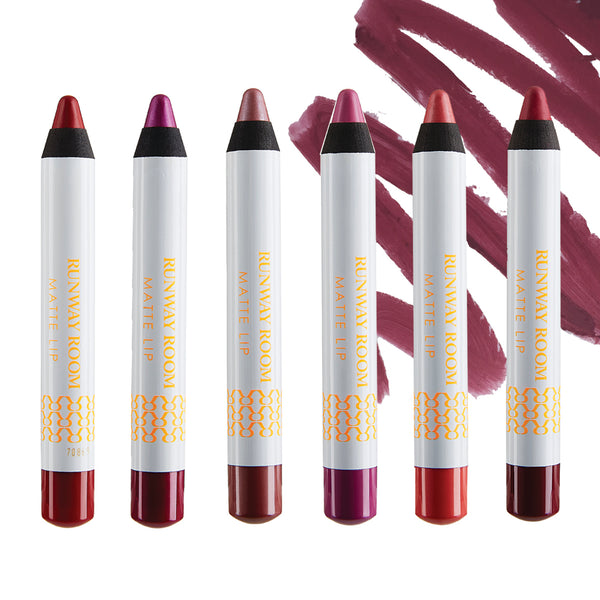 BURGUNDY - Matte Lips Chubby Pencils