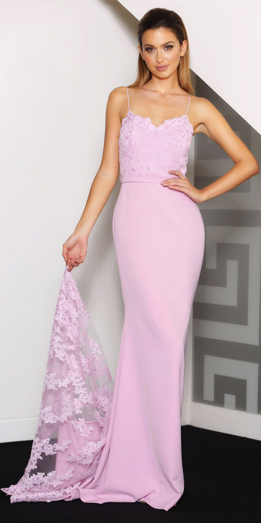 Tiarna Gown pink