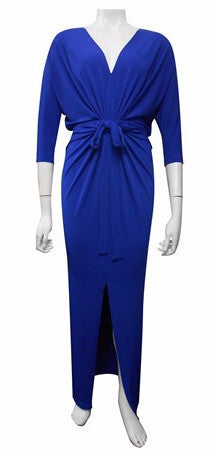 Victoria Soft Knit Dress (royal blue)