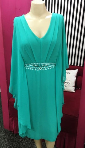 Hunter Dress (Teal)