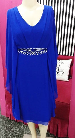 Hunter Dress (Cobalt)
