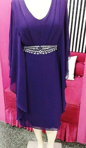 Hunter Dress (cadbury purple)