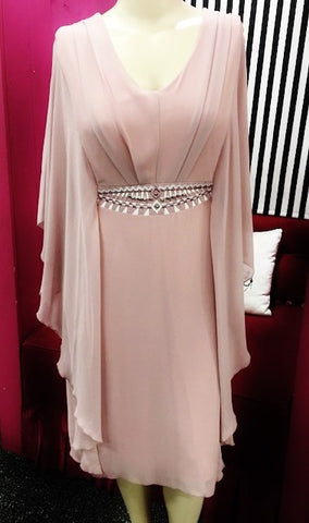 Hunter Dress (Blush pink)
