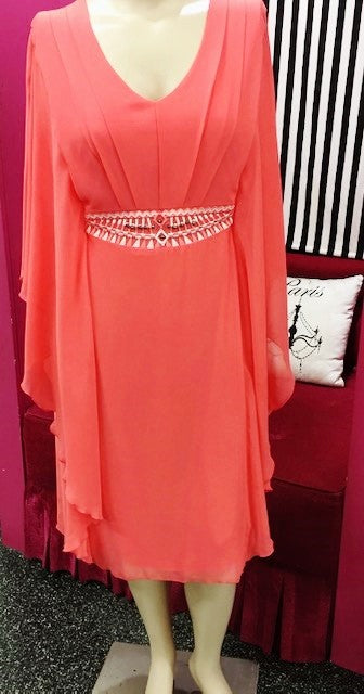 Hunter Dress (coral)