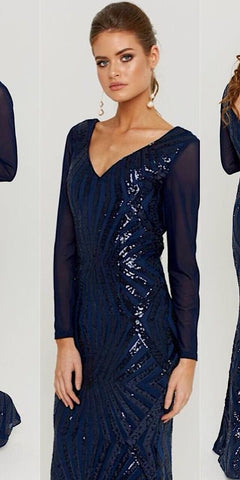 Laurence Sequin Gown