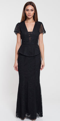 Ellie Lace Maxi (black)
