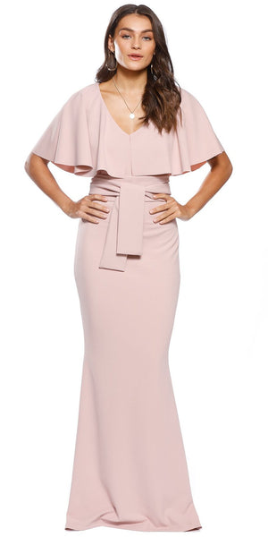 Mrs Carter Gown (jasper pink)