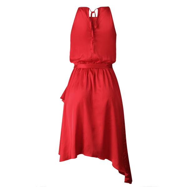 Josephine Wrap Dress (red)