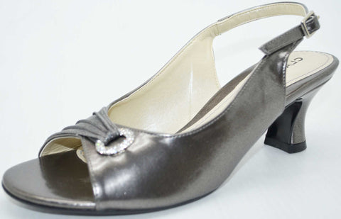 Jasmine Low Heel Grey