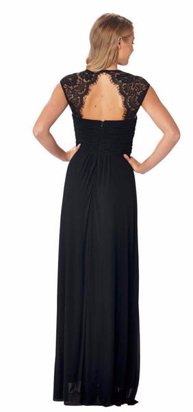 Monet Bridesmaid Gown (black)