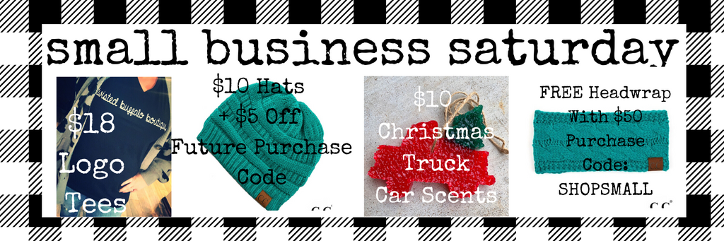 #SHOPSMALL Small Business Saturday Deals