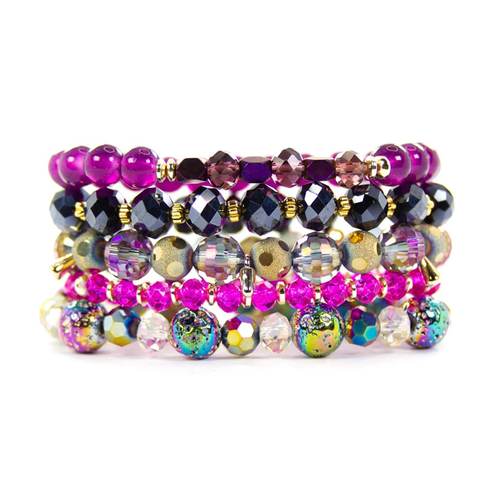 {AURORA} Bracelet Set of 5