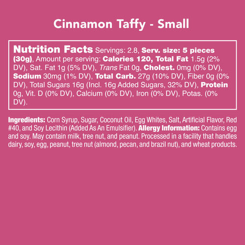 Candy Club {CINNAMON TAFFY}