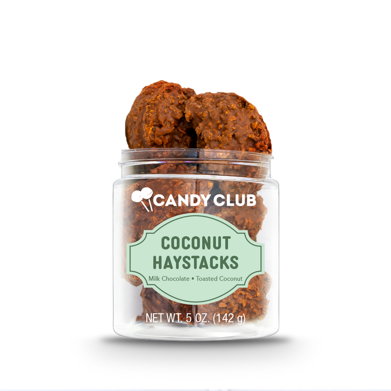 Candy Club {COCONUT HAYSTACKS}