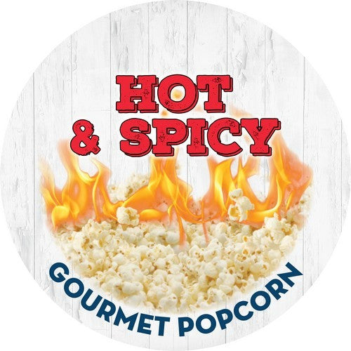 {HOT + SPICY} Gourmet Popcorn 3.5 Cups