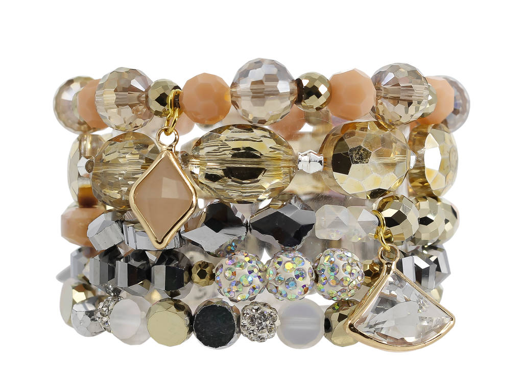 {JEWEL} Erimish Stack {Set of 5 Bracelets}
