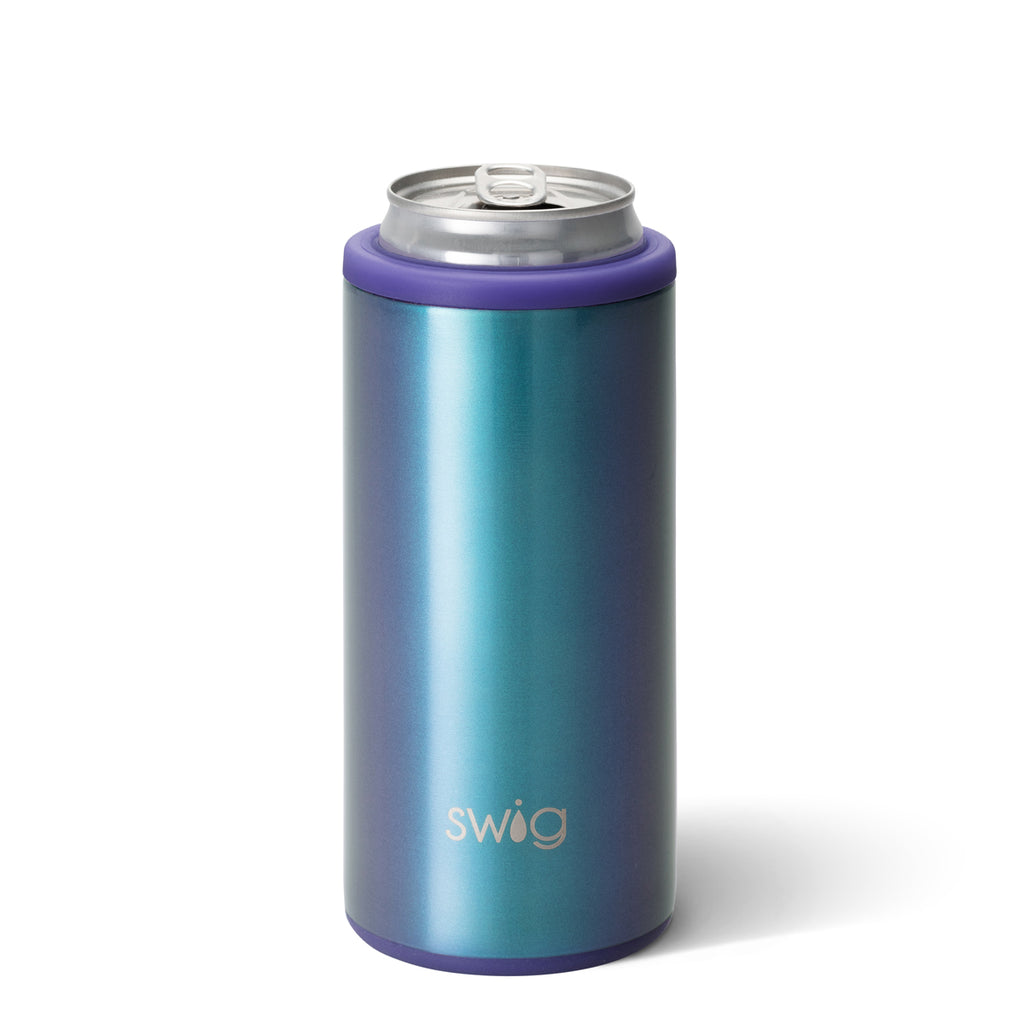 SWIG {MERMAZING} Skinny Insulated Stainless Steel Can Cooler (12 oz.)