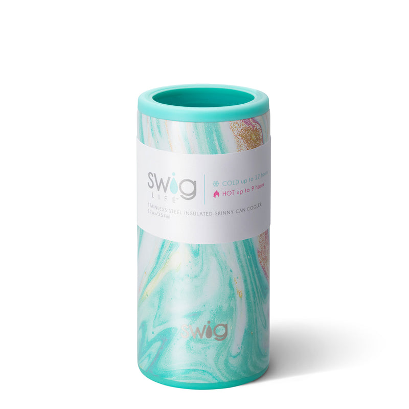 SWIG {WANDERLUST} Skinny Insulated Stainless Steel Can Cooler (12 oz.)
