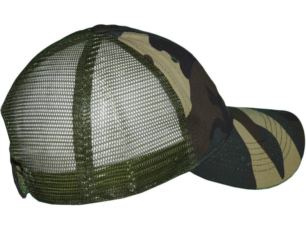 {COUNTRY CAMO} Vintage CAMOUFLAGE Trucker Hat/Cap