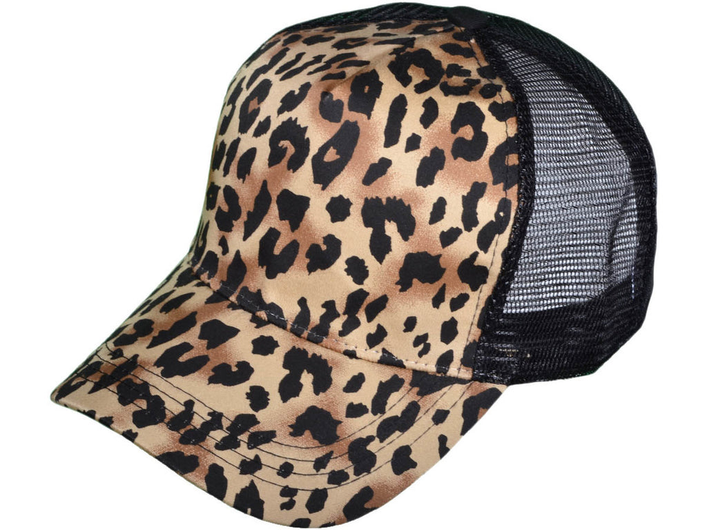 Candidly Cheetah {LEOPARD} Trucker Hat/Cap