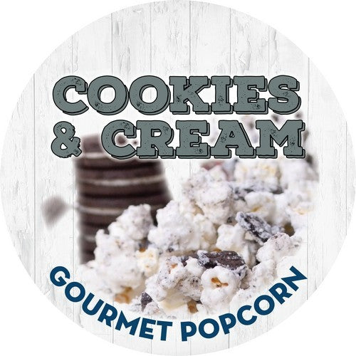 {COOKIES + CREAM} Gourmet Popcorn 3.5 Cups