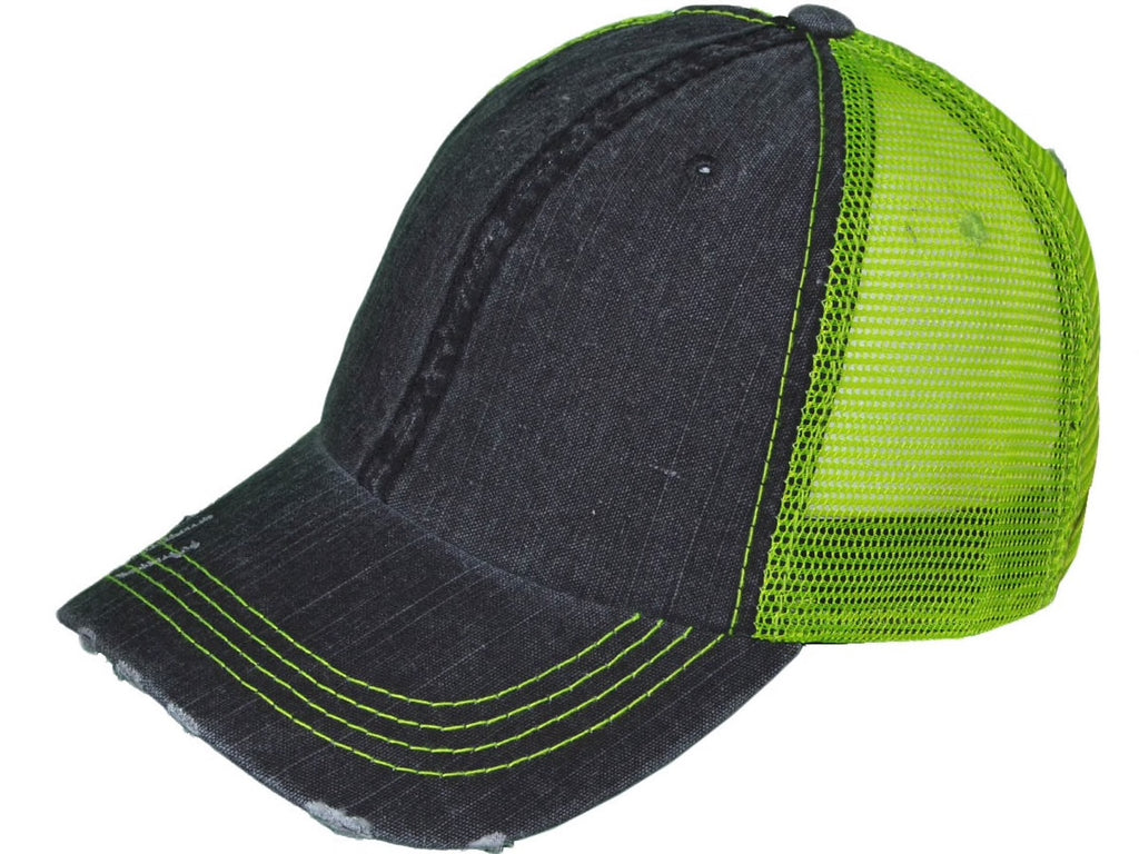Yelping Yettie  NEON YELLOW Trucker Hat/Cap